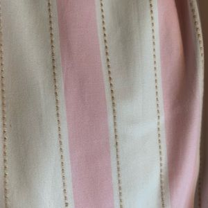Pottery Barn Kids Pink Striped Curtain Panels
